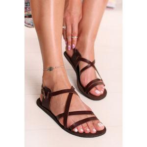 Hnědé sandály Pepi Barefoot