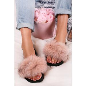 Růžové pantofle Allie