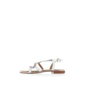 Bílé sandály Hallie