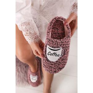 Růžové pantofle Gracie