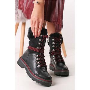 Černé boty 1-26982