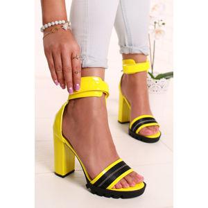 Žluté sandály Tonya