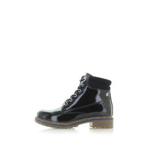 Černé kotníkové boty 64670