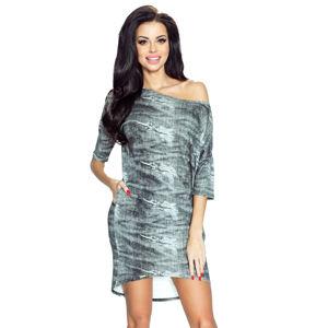 Šedé šaty Monica