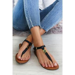 Tmavě modré sandály 6990303