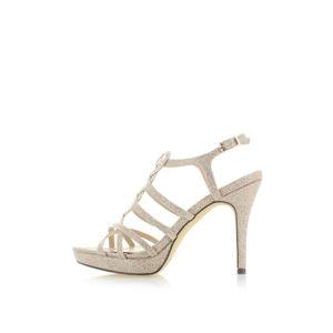 Zlaté sandály Menbur Vinitta