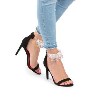 Černé sandály Paige