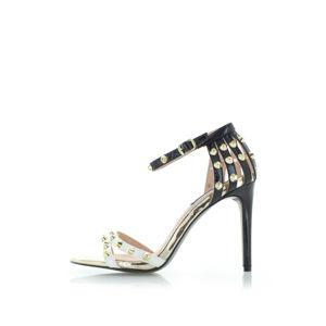 Černo-bílé sandály Elene