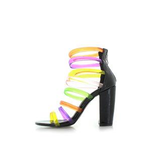 Černé sandály Leelee