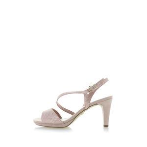 Růžové sandály 1-28318