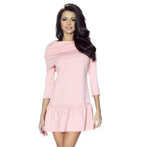 Světle růžové šaty Francesca