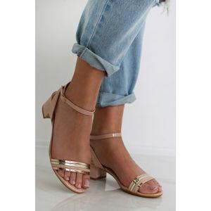 Béžové sandály Clarice