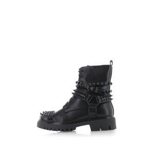 Černé kotníkové boty Tawny