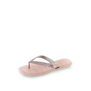 Růžovozlaté pantofle Sense V