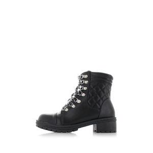 Černé kotníkové boty Gwen