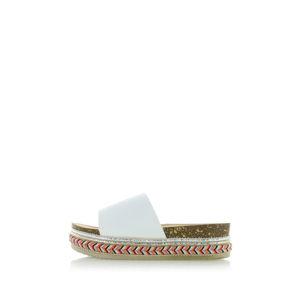Bílé pantofle Rut