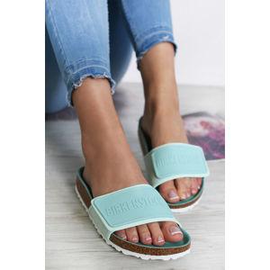 Dámské mátové pantofle Tema MF