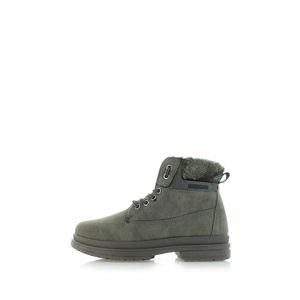 Tmavě zelené kotníkové boty Fayre