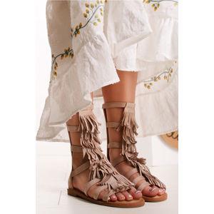 Béžové sandály Hyrelle