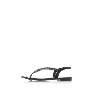 Černé sandály Acai Tropicalia