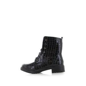 Černé kotníkové boty Hollie