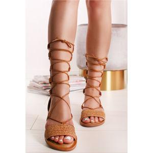 Skořicové sandály Buona