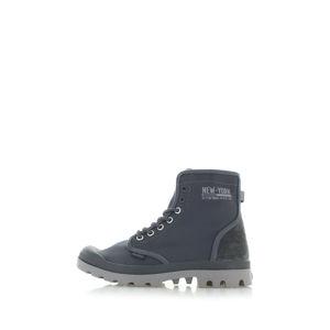 Tmavě šedé kotníkové boty Solid Ranger NYC