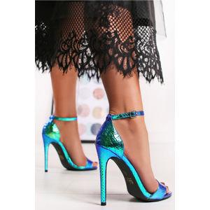 Modré sandály Selina