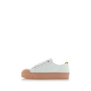 Bílo-růžové tenisky Sylvie 18739507