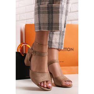 Béžové sandály Dorienne