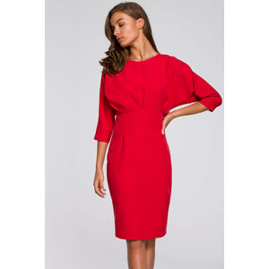 Červené šaty S242