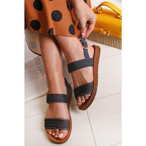 Tmavě modré sandály Dixon