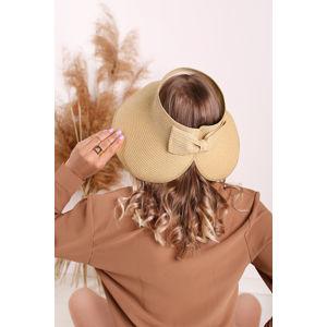 Žlutý dámský slamený klobouk Harriet
