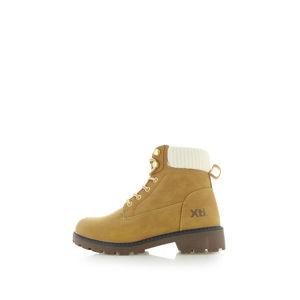 Skořicové kotníkové boty 49513