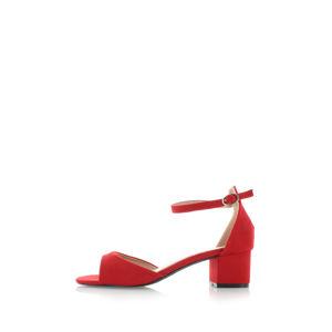 Červené sandály Stacia