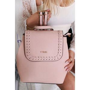 Světle růžový batoh Kacia