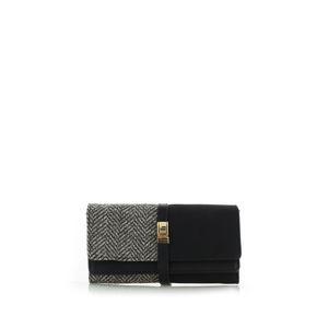 Černá peněženka Silvie