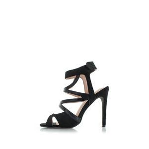 Černé sandály Beatrix