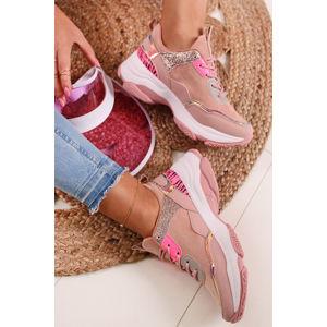 Růžové tenisky Nelle