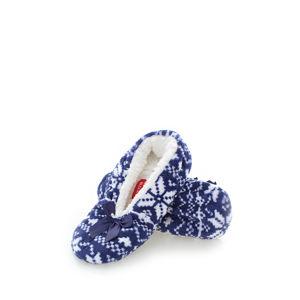 Tmavě modré pantofle Cushy