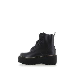 Černé platformové kotníkové boty Rylee