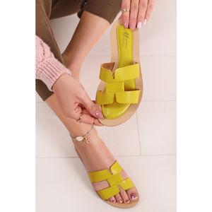 Žluté pantofle Esther