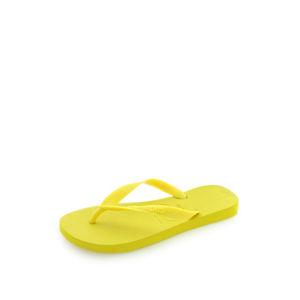Žluté pantofle Top