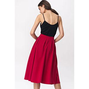 Červená sukně SP50