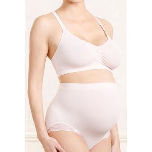 Světlo růžové těhotenské kalhotky Serenity