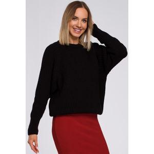 Černý pulovr M537