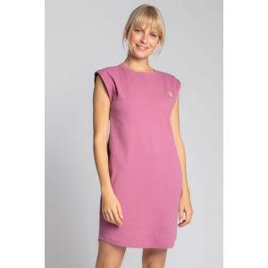 Růžové šaty LA033