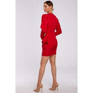 Červené šaty M531
