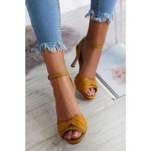 Žluté sandály Kylie