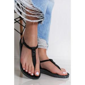 Černé sandály Bossa Soft
